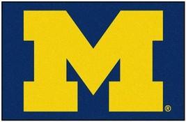 "Fanmats NCAA Michigan Wolverines Rookie Mat, Area Rug, Bath 20""x30 Del 2-4 Days - $16.82"