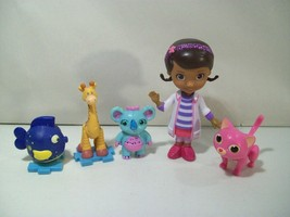 DISNEY DOC MCSTUFFINS MINI DOLL FIGURE WHISPER CAT LALA GABBY SQUEAKERS ... - $17.59
