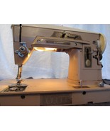 Heavy Duty Industrial Singer 403A Slant Sewing Machine Power Tested - $147.62