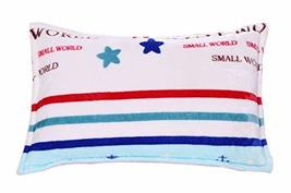 Single Autumn And Winter Thick Warm Pillowcase, Stripes And Stars - €23,12 EUR