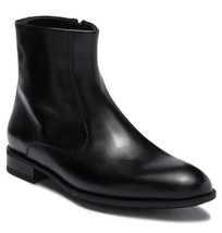 New in Box - $500 Bruno Magli Ipolito Black Leather Zip Boot Size 13 - $229.99