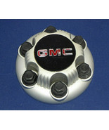 GMC 6 Lug Truck & Van Silver Painted Derby Style Wheel Center Cap 15712372 - $17.50