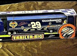 Blue Kevin Harvick #29 Die-Cast Collector Trailer Rig Winner's Circle AA19-NC801 image 4