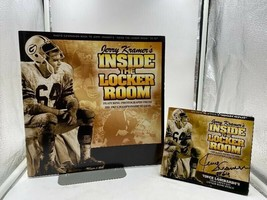"Autographed Jerry Kramer ""Inside the Locker Room"" C.D. Photo Companion Book - $40.00"