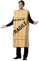 A Christmas Story Fragile Costume Adult Wooden Crate Halloween Unique GC... - $67.99