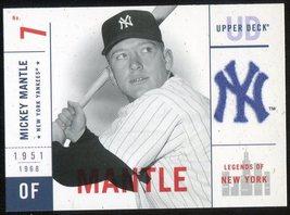 2001 Upper Deck Legends of New York #113 Mickey Mantle - $3.00
