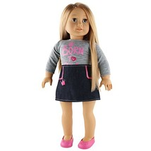 WEWILL Adorable Girl Doll Baby,18 inch, Grey Tina - $37.09
