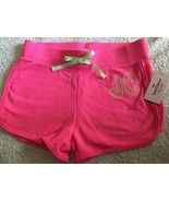 JUICY COUTURE Brand Pink Shorts Girls Sz Large 14  MSRP $30 Cute! - $17.95