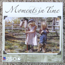 Country Girls Sure-Lox Moments in Time Jigsaw Puzzle 750 Pieces Complete - $3.00