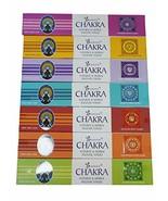 ABN Fashion Natural Handrolled Sticks Incense Seven Chakra Pure Fragranc... - $11.95