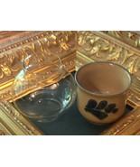 PFALTZGRAFF POTTERY FOLK ART MINI LITE VOTIVE CANDLE HOLDER GLASS GLOBE 906 NEW - $18.00