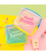 Jelly Cosmetic Bag For Make up Waterproof Patchwork Travel Wash Case Women - $12.95