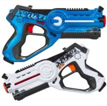 Set of 2 Kids Interactive Infrared Laser Tag Blaster Toy Play Set - $36.99