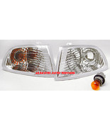 Honda Civic Depo 1992-1995 4DR Diamond Cut Clear Corner Light W Bulbs & ... - $19.79