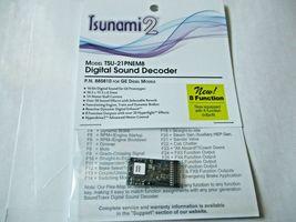Soundtraxx 884810 Tsunami 2 TSU-21PNEM8 Sound Decoder GE Diesel, 8 Function image 3