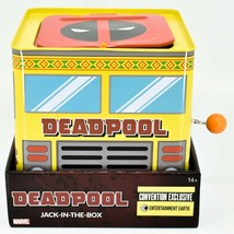 Entertainment Earth Convention Exclusive Marvel Deadpool Jack-in-the-Box