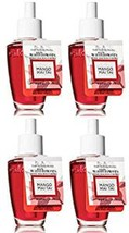 4 Bath & Body Works Mango Mai Tai Wallflower Fragrance Refill Bulb - $27.95