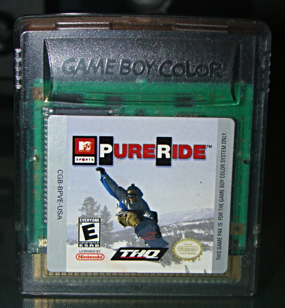 Primary image for Nintendo GAME BOY COLOR - MTV Sports PURE RIDE (Game Only)