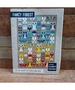 Fancy Forest by Elizabeth Hartman Animal Quilt Pattern, 2 Sizes, & New P... - $19.75