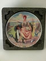 Bradford Exchange Limoges Cendrillon Plate - Quellier's Morals of Perrault - Cin - $35.67