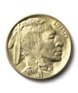 1936 S 5c Buffalo Nickel Five Cents US San Francisco  - €21,34 EUR