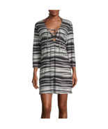 Porto Cruz Striped Dress Swimsuit Cover-Up Sizes S, M, XL Msrp $42.00 New   - $21.99