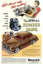 1955 Humber Hawk - Promotional Advertising Poster - $9.99+