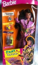 NIB 1993 Paint N Dazzle Vintage Barbie Create AN Outrageous Outfit - $18.01