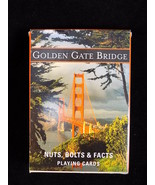 Vintage Golden Gate Bridge PLAYING CARD Deck Scenic Photo Conservancy Cards - $9.89