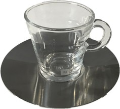 Nespresso View Collection 2 Espresso Coffee Cups and 2 Stainless Steel S... - $39.99