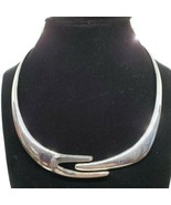 "Angel Castillo Taxco TC-55 Sterling Silver Hinged Choker Necklace 16.25""... - $296.99"