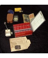 Vintage Photo Accessories Lot Kodak GE Gossen Kodaslide Honeywell - $29.99