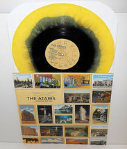 the ATARIS anywhere but here Lp Record YELLOW / BLACK Swirl Vinyl - £18.99 GBP
