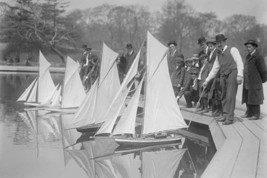 Toy Yachts are the pride of Central Park Enthusiasts as they race them i... - $19.99+