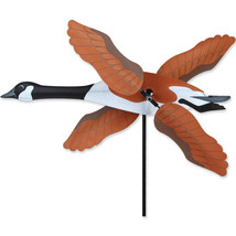 "Canada Goose Staked Wind Whirl Wing Bird 20"" Whirligig Spinner...15........ - $28.99"