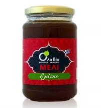 Bio Fir Raw Honey Jar 450gr-15.87oz From Crete Greece 100% Organic Honey - $34.06