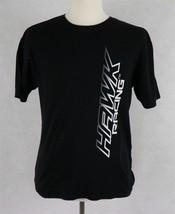Hawk Racing Mens Black T-Shirt Size Large - $18.80