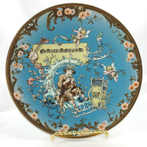 Papageno The Magic Flute Plate Limited Edition Villeroy Boch Mettlach Co... - $42.95