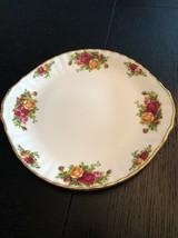 """Royal Albert Old Country Roses. Small B&b Plate 10"""" Bone China - $35.00"""
