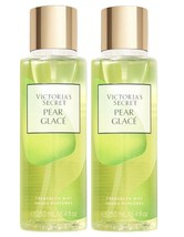 2 Victoria's Secret PEAR GLACE Classic Body Fragrance Mist Spray 8.4 oz - $31.47
