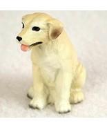 LAB LABRADOR RETRIEVER (YELLOW) TINY ONES DOG Figurine Statue Resin Pet Lovers - $9.99