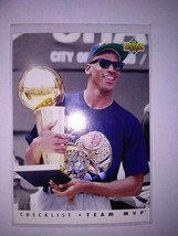 1992-93 Upper Deck Team Mvps Complete Set 28 Sheets Michael Jordan  Etc. Nba - $122.24