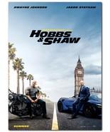 "Hobbs&Shaw Movie Poster 24x36"" - Frame Ready - USA Shipped - $17.09"