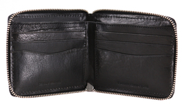 Tommy Hilfiger Men's Leather Zip Around Wallet Passcase Billfold Rfid 31TL130047 image 9