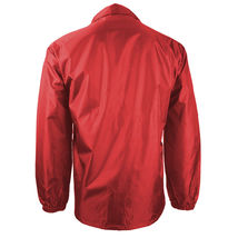 Renegade Men's Lightweight Water Resistant Button Up Windbreaker Coach Jacket image 9