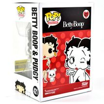 Funko Pop! Betty Boop & Pudgy Black & White Entertainment Earth Exclusive Figure image 3