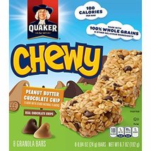 Quaker Peanut Butter Chocolate Chip Chewy Granola Bars, 8-Count, 6.7 Oun... - $29.99