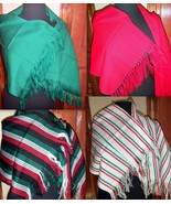Girls One Size Many Colors Rebozo Wrap Shawl Mexican Manta Folklorico Fi... - $16.00