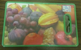 """Plastic Cutting Board, RECTANGLE, (approx. 14.5""""x9"""") FRUITS, green, Qual... - $11.50 CAD"""