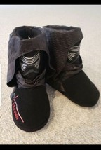 Disney Star Wars Kylo Ren Kids Slippers Boots Size 9/10  - $7.25